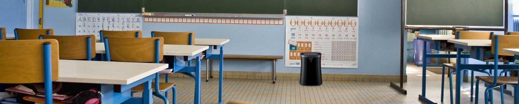 purificador aire colegio madrid